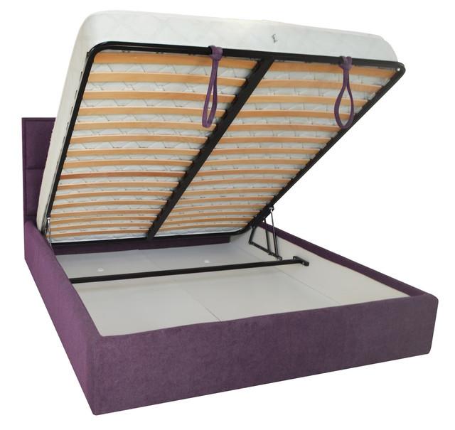 Кровать двуспальная Шеффилд (ткань Мисс 24) фото 3