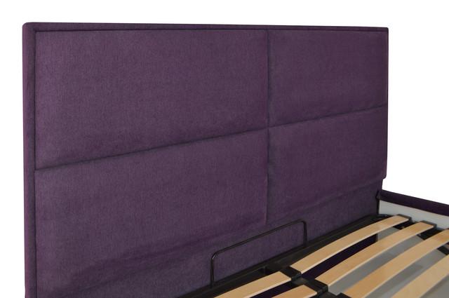 Кровать двуспальная Шеффилд (ткань Мисс 24) фото 4