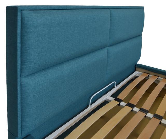 Кровать двуспальная Шеффилд (ткань плаза 96) фото 4