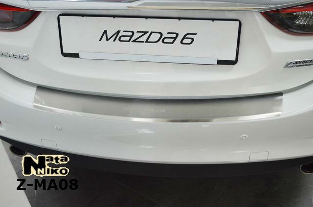 Накладка на бампер  Mazda 6 III 2013 / Мазда 6 Nataniko, фото 1