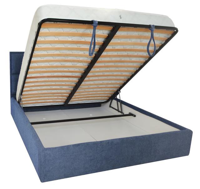 Кровать двуспальная Шеффилд (ткань плаза 36) фото 3