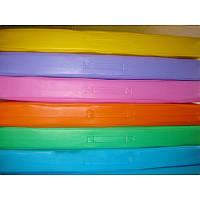 Маты гимнастический детский раскладной одноцветный 1х2 м , фото 1