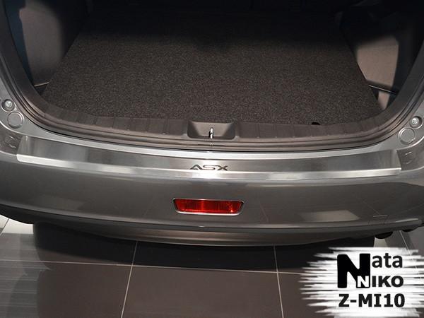 Купить Накладка на бампер Mitsubishi ASX FL 2013 / Митсубиши АСХ Nataniko
