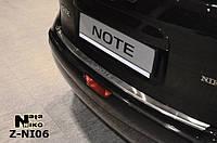 Накладка на бампер  Nissan NOTE 2006 / Ниссан Нот Nataniko, фото 1