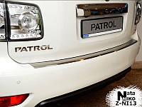 Накладка на бампер  Nissan PATROL VI 2010 / Ниссан Патруль Nataniko, фото 1