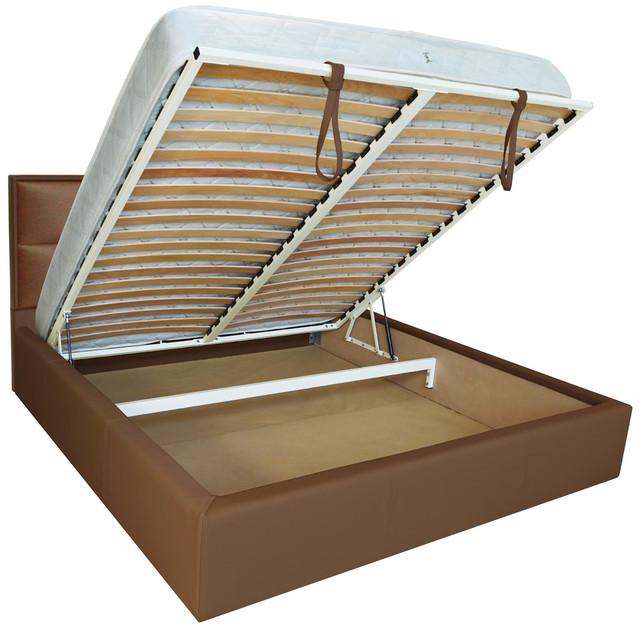 Кровать двуспальная Шеффилд (ткань флай 2213) фото 3