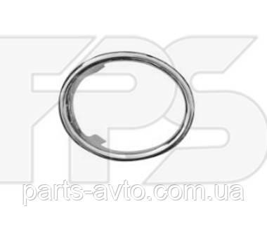 Накладка на ПТФ хромированная правая  Renault Logan 2, Sandero 2 Тайвань FP 5631 912,  261527502R