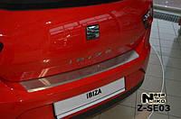 Накладка на бампер  Seat IBIZA IV 3D FL 2012- / Сеат Ибица Nataniko, фото 1