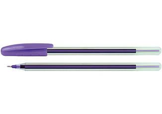 Ручка масляна Economix COLIBRI. Корпус асорті. Пише синім. (E10237)