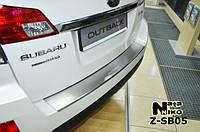 Накладка на бампер  Subaru OUTBACK IV 2009- / Субару Аутбек Nataniko, фото 1
