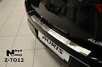 Накладка на бампер  Toyota AURIS II 2013 / Тойота Аурис Nataniko, фото 1