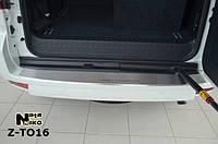 Накладка на бампер  Toyota LAND CRUISER 150 2009- / Тойота Лендкрузер Nataniko
