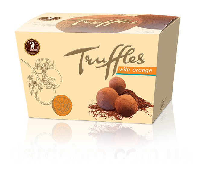 Конфеты «Трюфель с апельсином» 200 гр