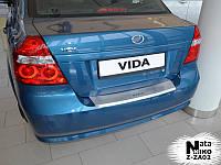 Накладка на бампер  ZAZ VIDA 4D 2011- / Заз Вида Nataniko, фото 1