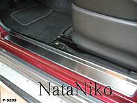 Накладки на пороги Suzuki Jimny 1998- premium, фото 1