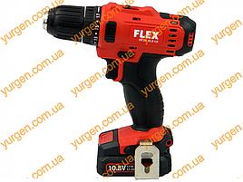 Акумуляторний шуруповерт FLEX DD2G10.8-LD