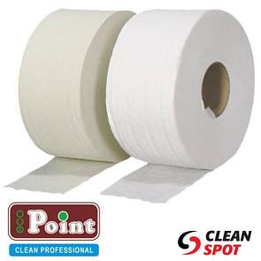 Однослойная туалетная бумага джамбо