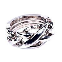 Металлическая головоломка литая Кольцо (аналог Cast Puzzle Ring)