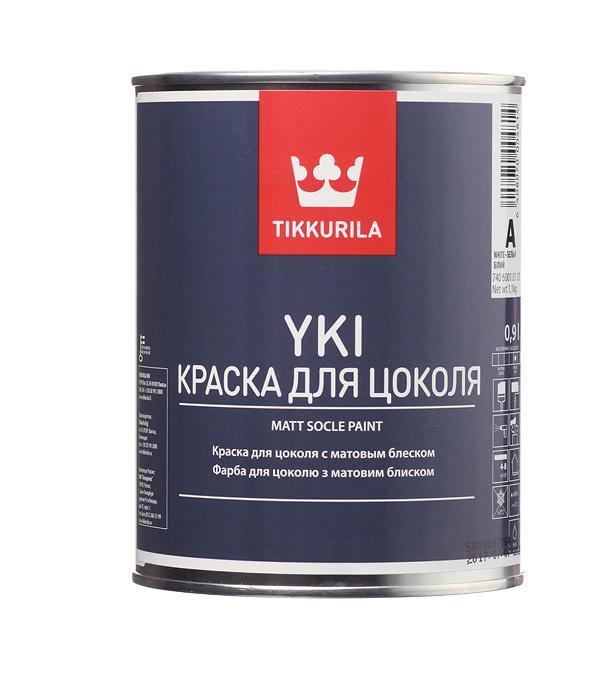 Фарба для цоколя Tikkurila YKI (Юкі) 0,9л (A)