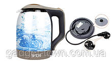 Стеклянный Электрочайник Sinbo SHB-993 Электрический чайник дисковый