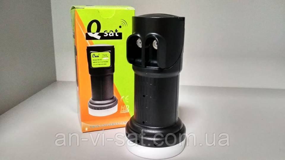 Універсальний конвертор Q-Sat QK-02 Twin