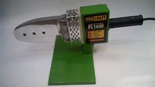 Паяльник для пластиковых труб Procraft PL1600 (метал. кейс)