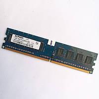 Оперативная память Elpida DDR2 1Gb 800MHz PC2 6400U CL6 (EBE10UE8AFFA-8G-F) Б/У, фото 1