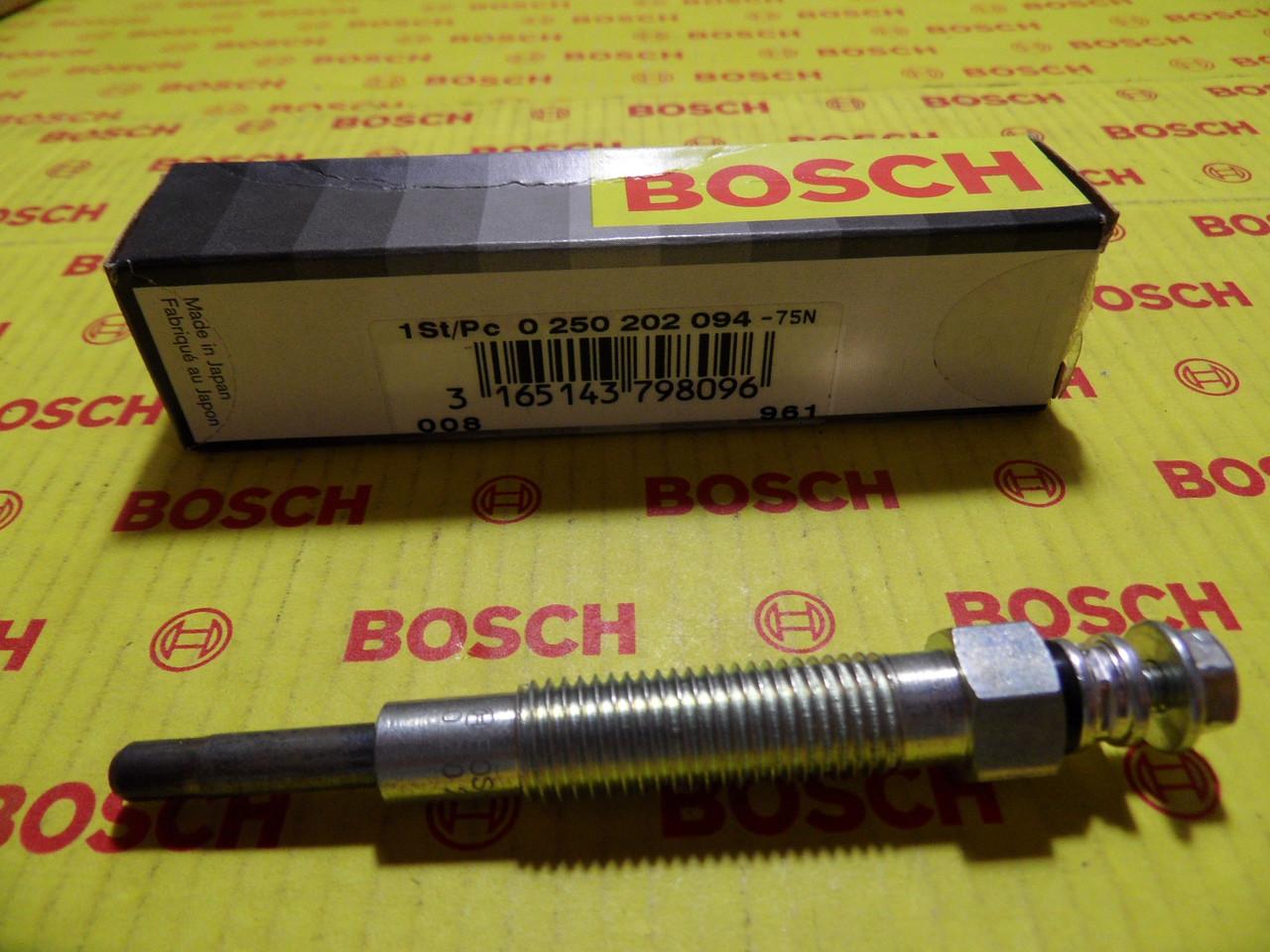 Свечи накаливания Bosch Duraterm, 0258202094, 0 258 202 094, 0250202060, 0 250 202 060, 0250312001,