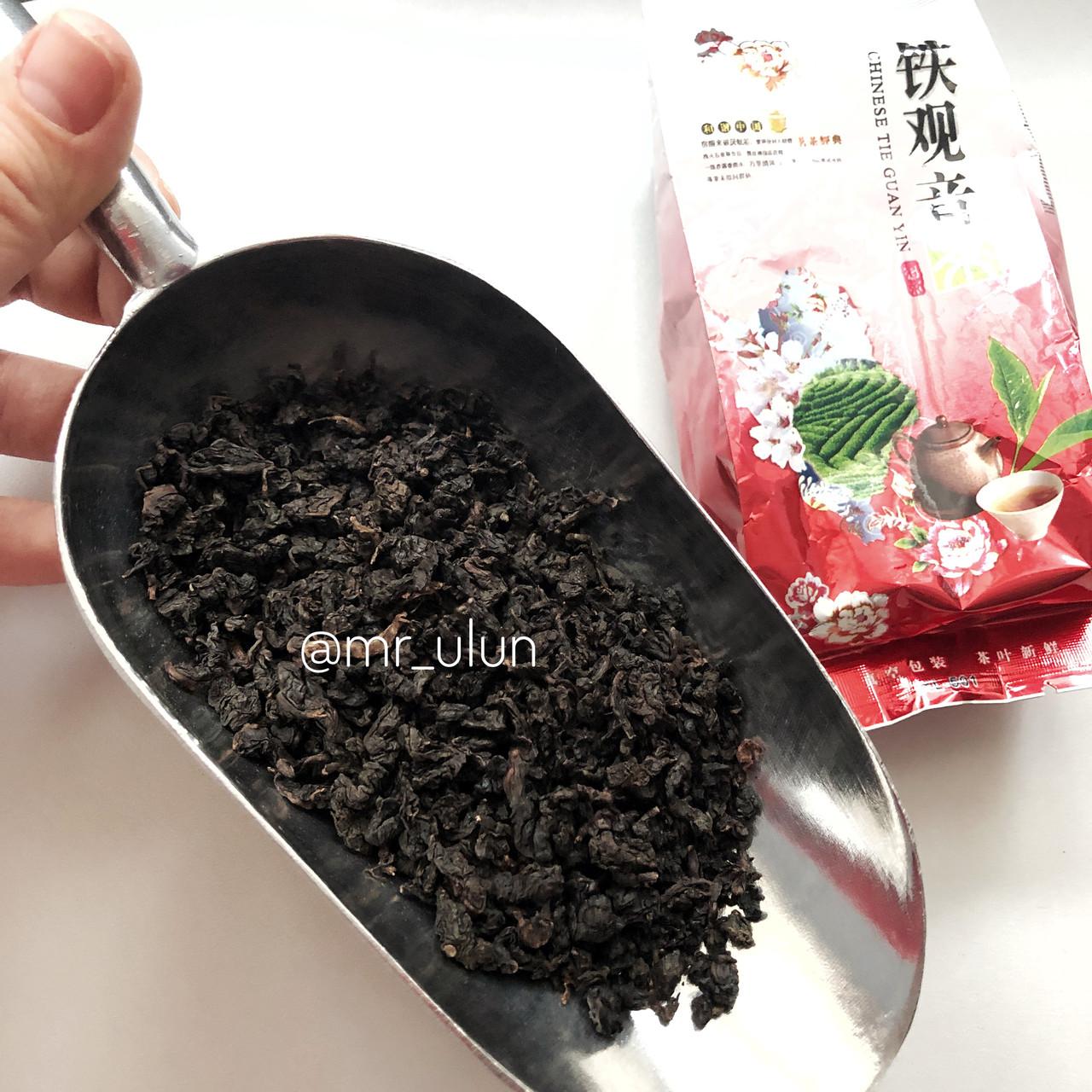 Тёмный улун Тегуаньинь прожаренный (Черный Те Гуань Инь) 50 г