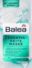 Маска для лица Balea Feuchtigkeits Maske 2x8ml