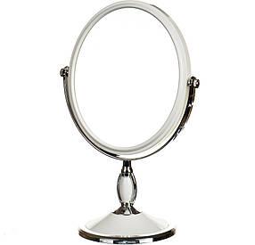 Зеркало косметическое двухстороннее с увеличением Joys home 30 см (045Z)