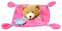 Игрушка платочек Bino - Медвежонок