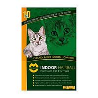 Корм для котов Milana (Милана) Indoor Hairball с выводом шерсти и проф мочекаменной болезни 10 кг