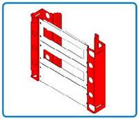 Главный профиль для металлического щита высотой 500 мм. (ящика, щитка)