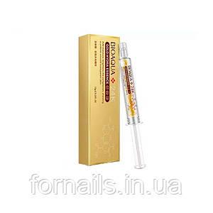 BIOAQUA Gold Hydra Essence, Увлажняющая эссенция с пептидами шелка и гиалуроновой кислотой, 10 г