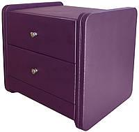 Тумба прикроватная Меган фиолетовая