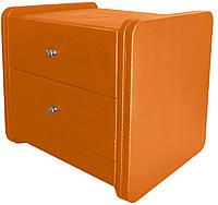 Тумба прикроватная Меган оранжевая