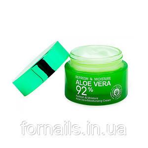 Bioaqua Aloe Vera 92 %, Увлажняющий крем с Алое, 50 мл