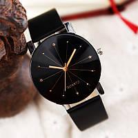 Женские часы Classic black черные, жіночий наручний годинник, классические женские наручные часы