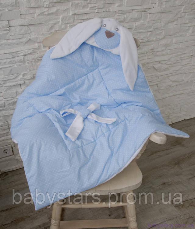 плед на выписку для новорожденного
