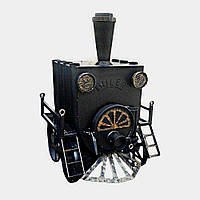 Печь Булерьян «Паровоз» Тип-00 со стеклом