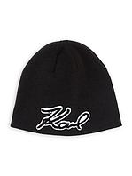 Черная шапка Karl Lagerfeld Paris, фото 1