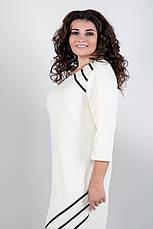 Платье женское офисное деловое повседневное большие размеры: 52-60, фото 3