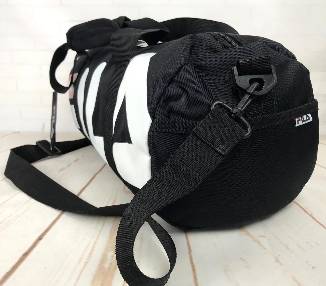 fc7a21e54a4f Небольшая красивая спортивная сумка бочонок Fila. Раз.44см на 23 КСС12,  цена 399 грн., купить в Бердянске — Prom.ua (ID#865513524)