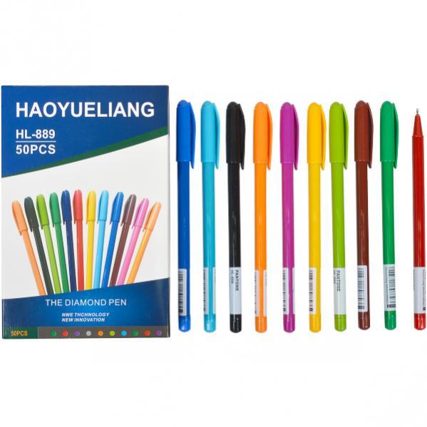 Ручка масляная Cello синий 1 упаковка (50 штук)            CL-HL-889