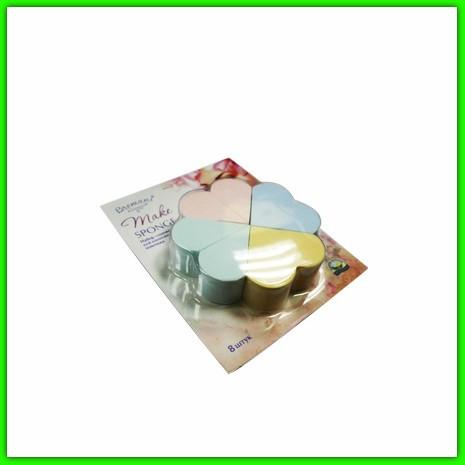 Набор спонжей для нанесения макияжа (цветок) НСП (NSP)