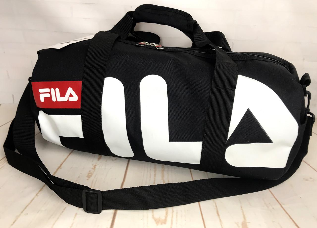 fafcd90ee595 Небольшая красивая спортивная сумка бочонок Fila. Раз.44см на 23 КСС12