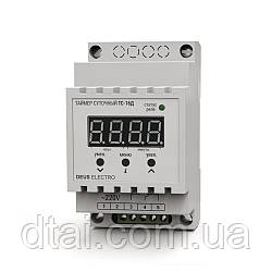 Таймер суточный цифровой на DIN-рейку ТС-16Д (16А, 220В)