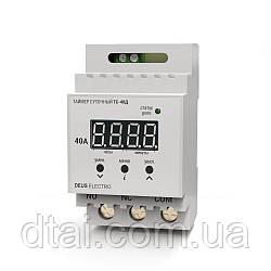 Таймер суточный цифровой на DIN-рейку ТС-40Д (40А, 220В)