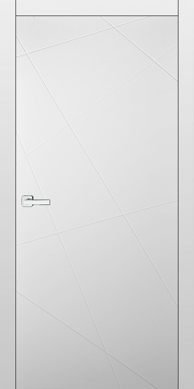 Двери межкомнатные Questdoors - QNP1 Эмаль белая Ral9003